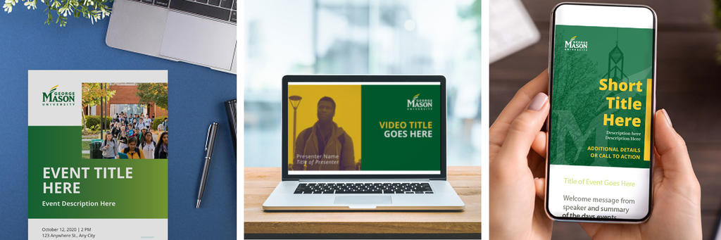 Samples of Mason branded templates
